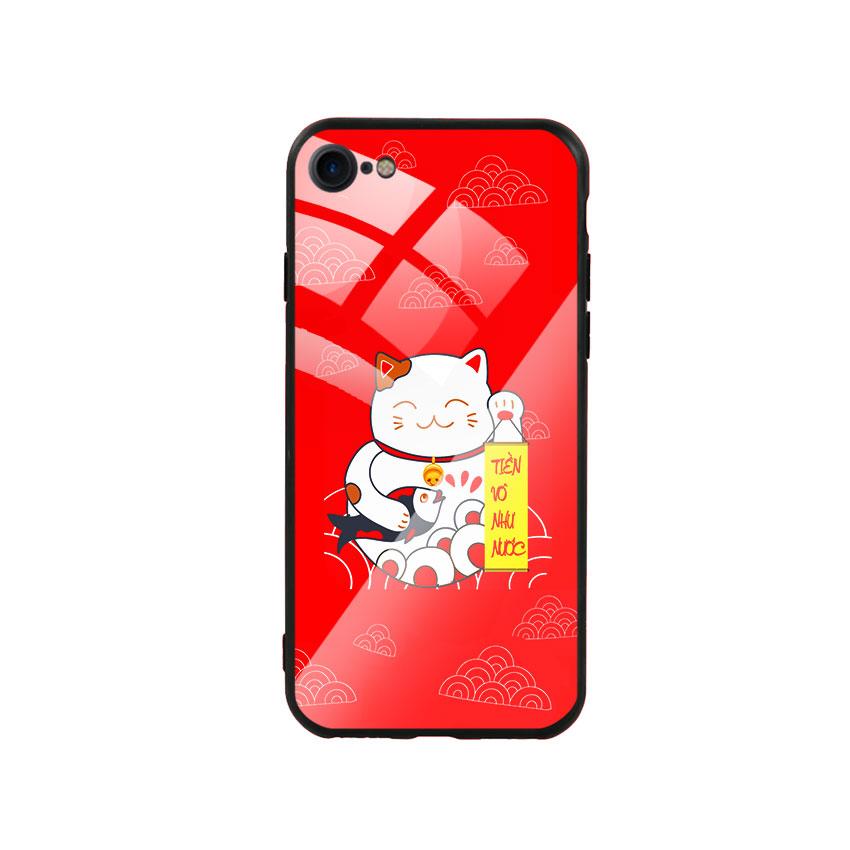 Ốp Lưng Kính Cường Lực cho điện thoại Iphone 7 / 8 - Mèo May Mắn 02 - 767208 , 7988462800587 , 62_14807067 , 250000 , Op-Lung-Kinh-Cuong-Luc-cho-dien-thoai-Iphone-7--8-Meo-May-Man-02-62_14807067 , tiki.vn , Ốp Lưng Kính Cường Lực cho điện thoại Iphone 7 / 8 - Mèo May Mắn 02
