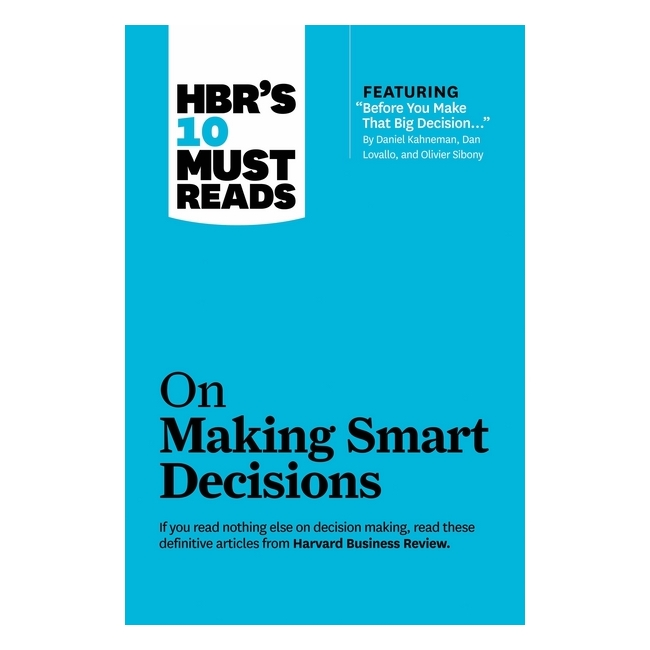 Harvard Business Review: 10 Must Reads On Making Smart Decisions - 779989 , 1117641836710 , 62_11504740 , 677000 , Harvard-Business-Review-10-Must-Reads-On-Making-Smart-Decisions-62_11504740 , tiki.vn , Harvard Business Review: 10 Must Reads On Making Smart Decisions