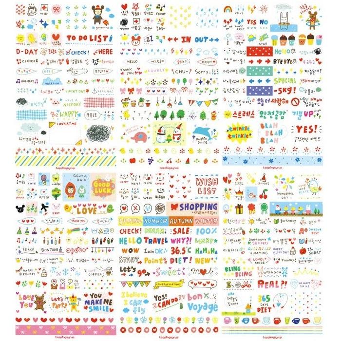 Bộ 06 Tấm Sticker Trang Trí  Sổ Nhật Ký - 1645491 , 6914908711804 , 62_11401193 , 58000 , Bo-06-Tam-Sticker-Trang-Tri-So-Nhat-Ky-62_11401193 , tiki.vn , Bộ 06 Tấm Sticker Trang Trí  Sổ Nhật Ký