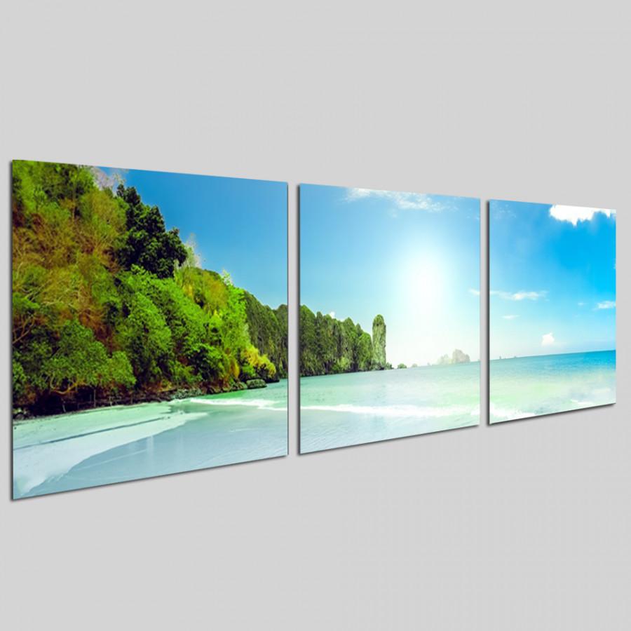 Bộ tranh 3 tấm phong cảnh biển tuyệt đẹp - tranh gỗ treo tường - dạng hình vuông từng tấm - 2148293 , 7264367274075 , 62_13698634 , 1300000 , Bo-tranh-3-tam-phong-canh-bien-tuyet-dep-tranh-go-treo-tuong-dang-hinh-vuong-tung-tam-62_13698634 , tiki.vn , Bộ tranh 3 tấm phong cảnh biển tuyệt đẹp - tranh gỗ treo tường - dạng hình vuông từng tấm