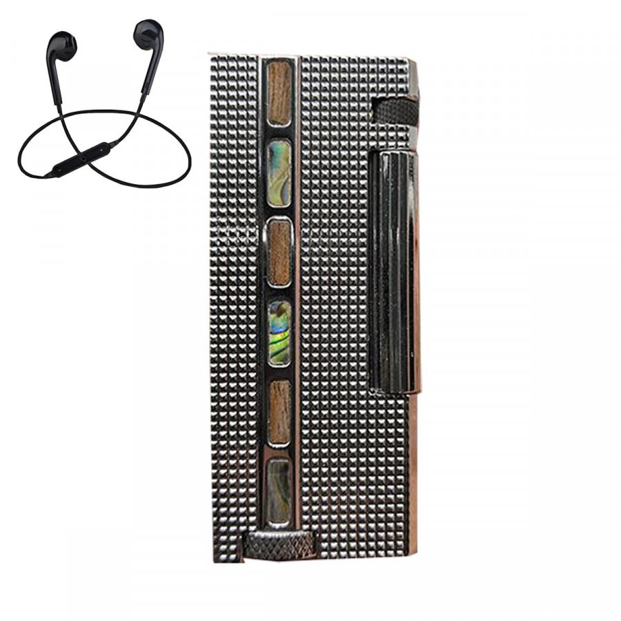 Combo Bật lửa xăng đá ZC-B9 + Tặng Tai Nghe Bluetooth Cảm Ứng Cao Cấp (Màu Ngẫu Nhiên)