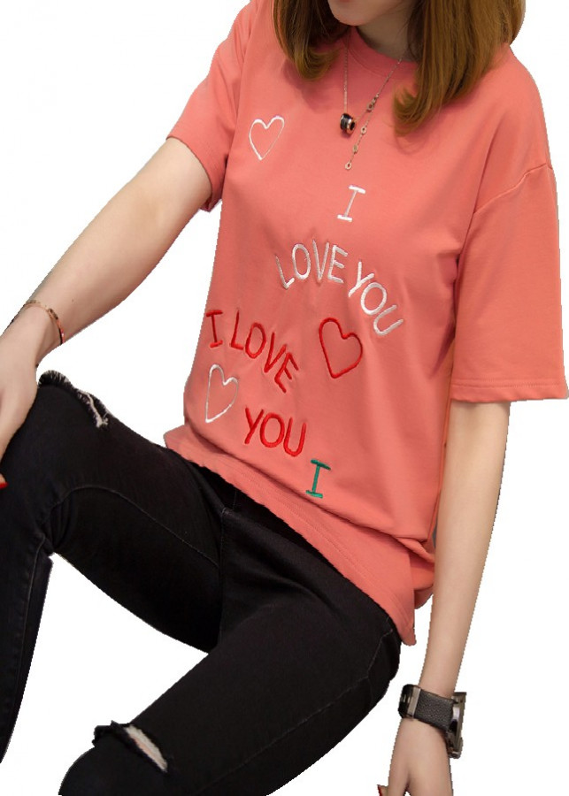 Áo Thun Nữ I Love You (Free Size )