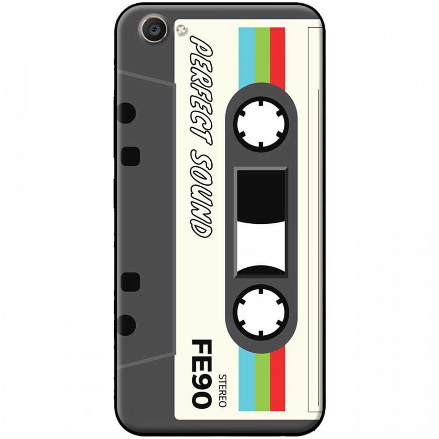 Ốp lưng dành cho Vivo Y69 mẫu Cassette xám trắng