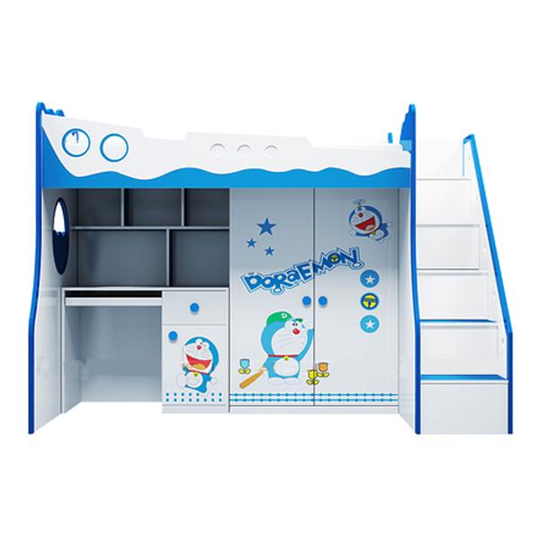 Giường Tầng 3 Trong 1 Hình Doremon IBIE CD31DM12