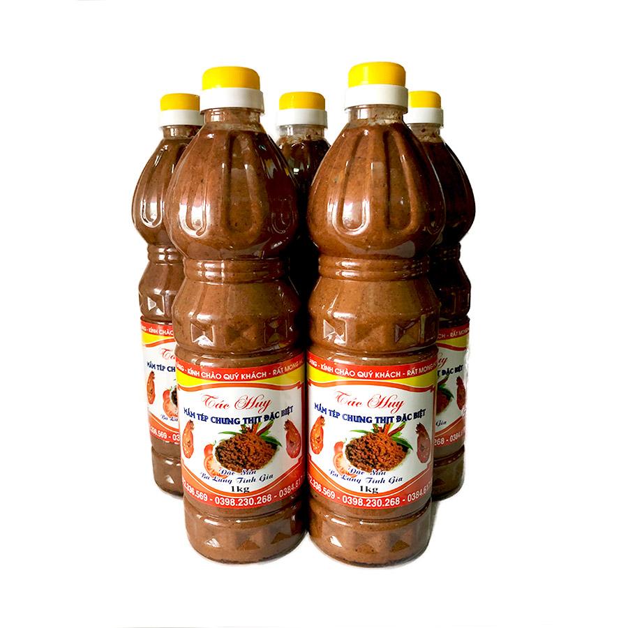 Mắm Tép Ba Làng Thanh Hóa 1kg loại đặc biệt
