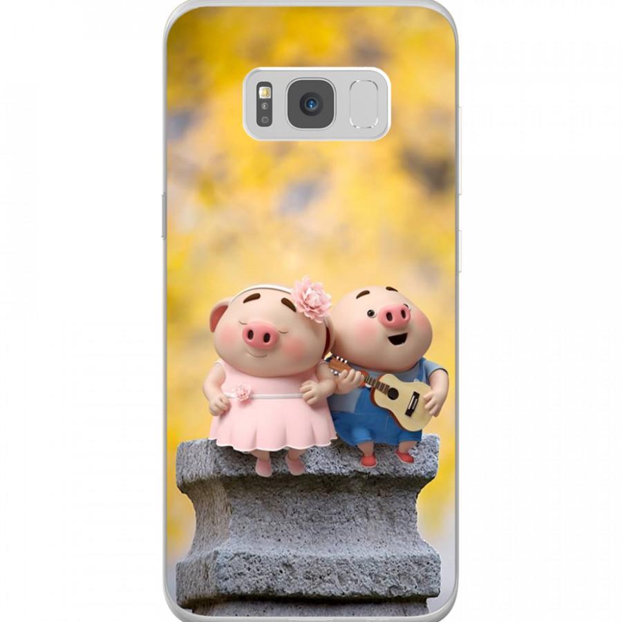 Ốp Lưng Cho Điện Thoại Samsung Galaxy S8 Plus - Mẫu aheocon 74