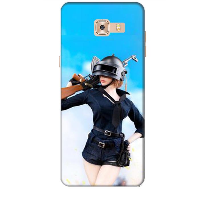 Ốp lưng dành cho điện thoại  SAMSUNG GALAXY C9 PRO hình PUBG Mẫu 13