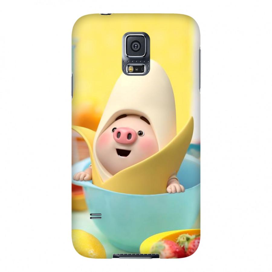 Ốp Lưng Cho Điện Thoại Samsung Galaxy S5 - Mẫu heocon 136