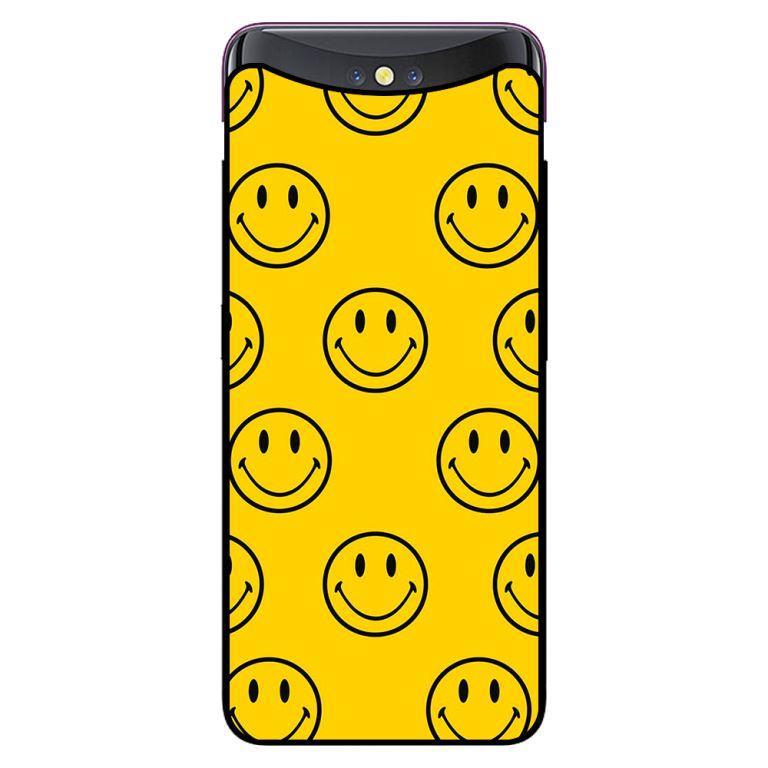 Ốp in cho Oppo Find X Icon Happy - Hàng chính hãng