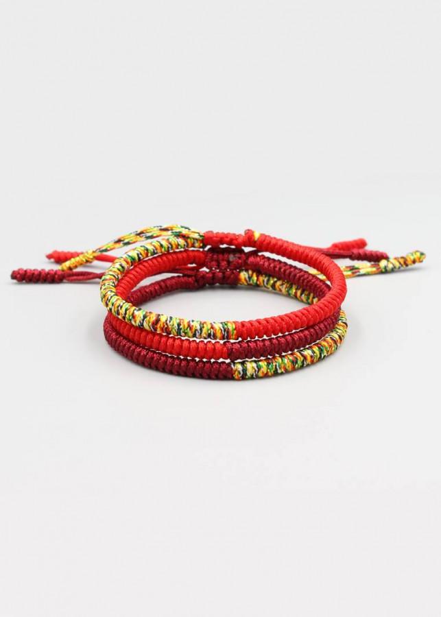Combo 3 Vòng Tay Thắt Dây Ngũ Sắc Chỉ Màu Tibet Handmade - Tông Màu Đỏ - K5C1/2 - 2040766 , 2635646475530 , 62_11875192 , 529000 , Combo-3-Vong-Tay-That-Day-Ngu-Sac-Chi-Mau-Tibet-Handmade-Tong-Mau-Do-K5C1-2-62_11875192 , tiki.vn , Combo 3 Vòng Tay Thắt Dây Ngũ Sắc Chỉ Màu Tibet Handmade - Tông Màu Đỏ - K5C1/2