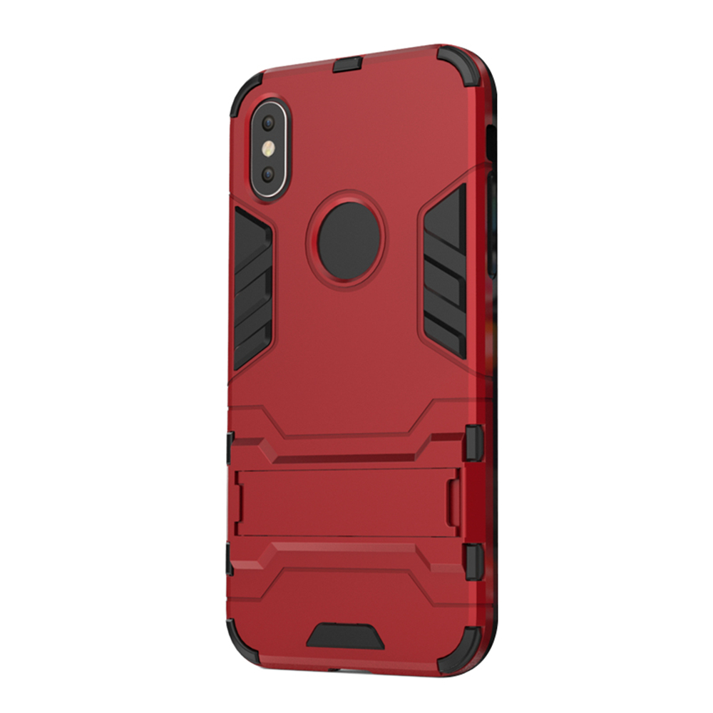Case for iPhone X with Stand Back Cover Solid Colored Hard PC - 16628315 , 7936301353855 , 62_27192213 , 144000 , Case-for-iPhone-X-with-Stand-Back-Cover-Solid-Colored-Hard-PC-62_27192213 , tiki.vn , Case for iPhone X with Stand Back Cover Solid Colored Hard PC