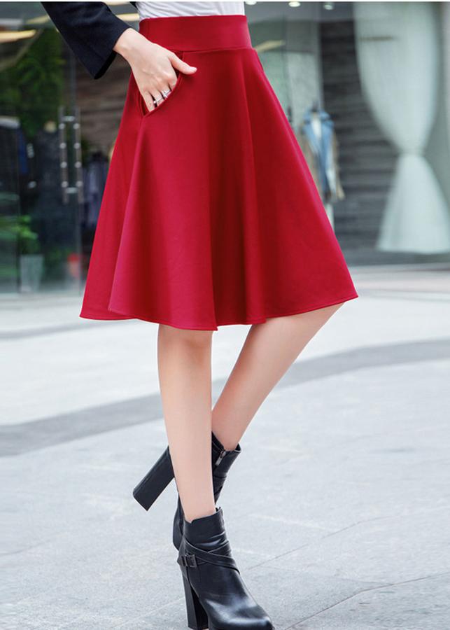 Chân váy xòe điệu đà – MS0301D