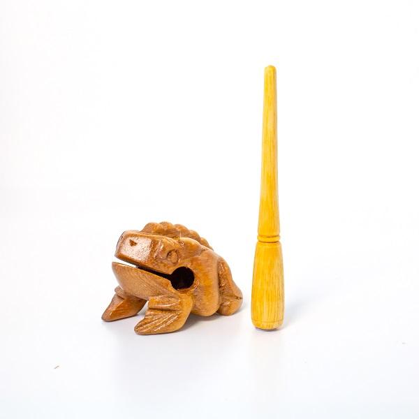 Nhạc cụ gõ gỗ hình ếch