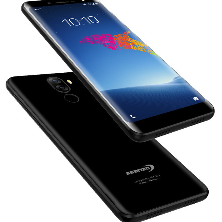 Điện thoại Smartphone Asanzo A1 Mh5.5inch Ram 1Gb Rom 8Gb Kết nối 3G