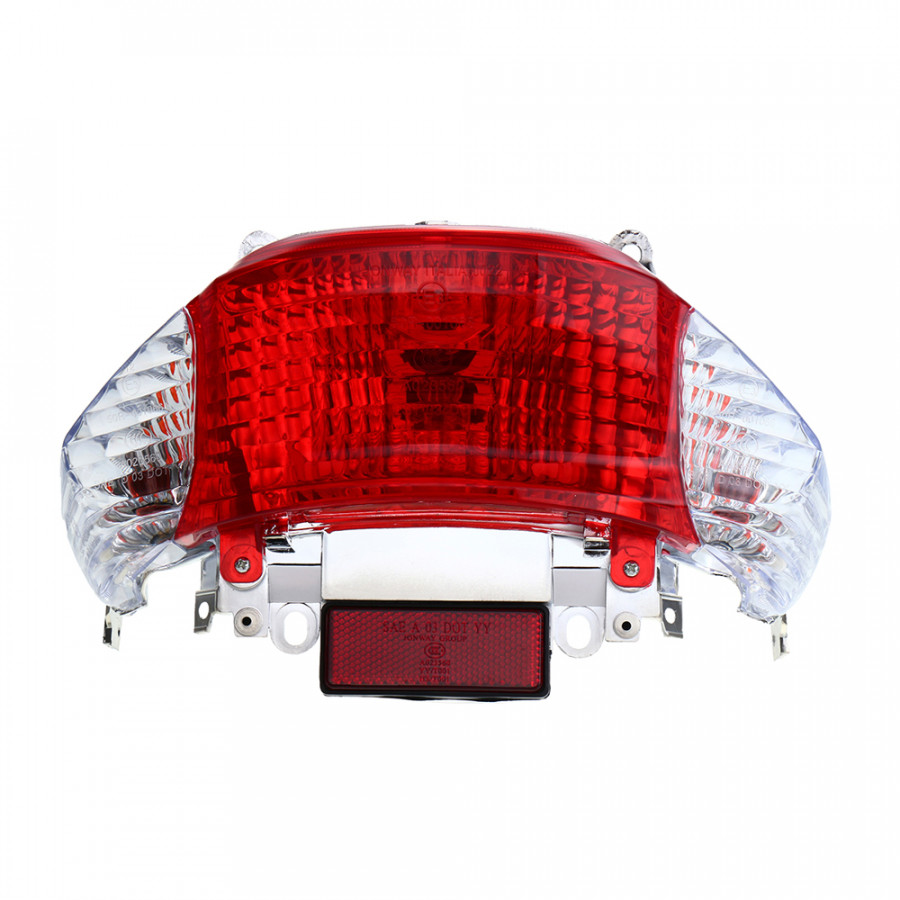 1Pc Motorcycle Gy6 Scooter 50cc Rear Tail Light Turn Signal Indicator Lamp for Chinese Taotao Sunny