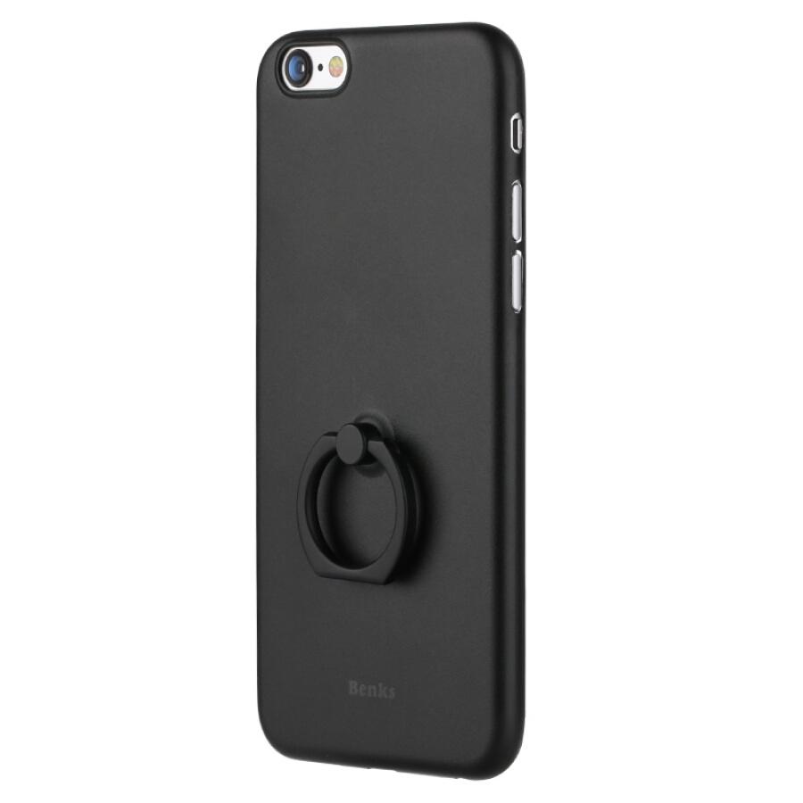 Ốp Điện Thoại Với Giá Đỡ Chiếc Nhẫn Cho iPhone 6Splus Lollipop Series Bunkers- Đen