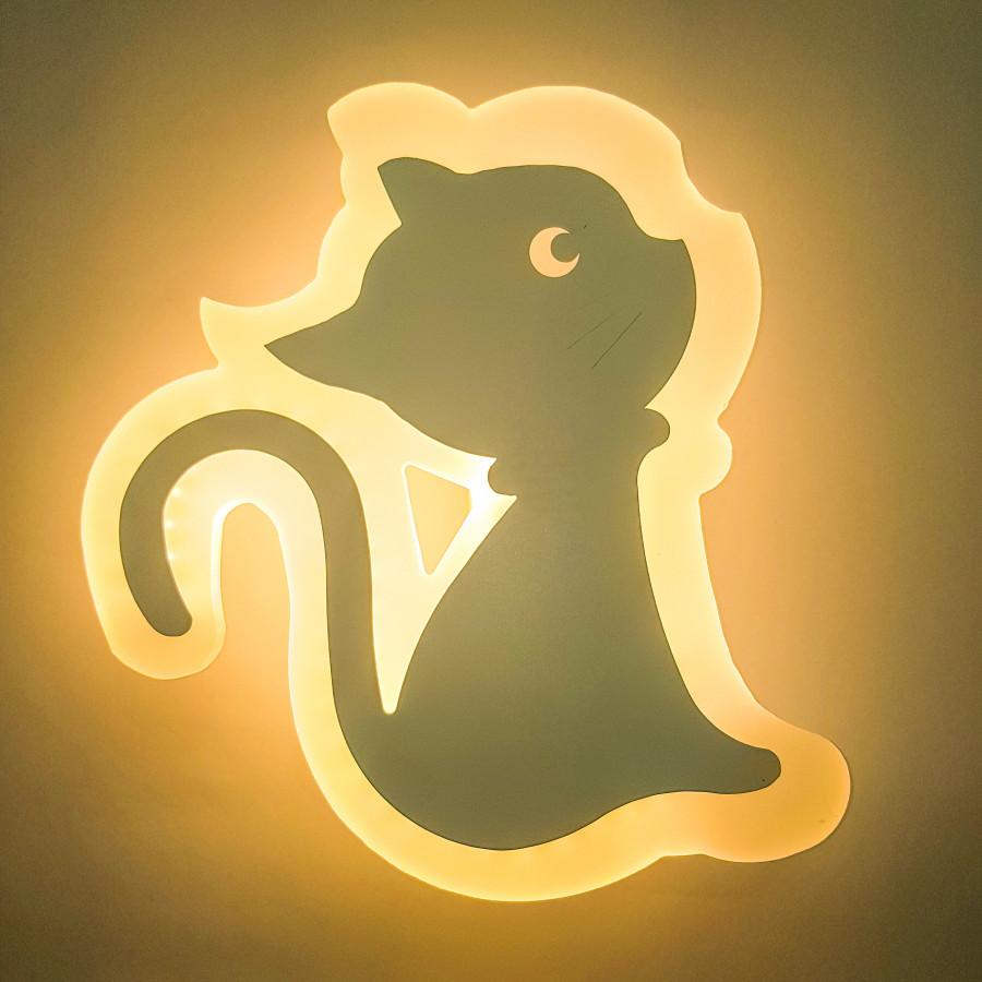 Đèn gắn tường trang trí hình chú mèo dễ thương. - 1479510 , 8526487197726 , 62_15410422 , 625000 , Den-gan-tuong-trang-tri-hinh-chu-meo-de-thuong.-62_15410422 , tiki.vn , Đèn gắn tường trang trí hình chú mèo dễ thương.