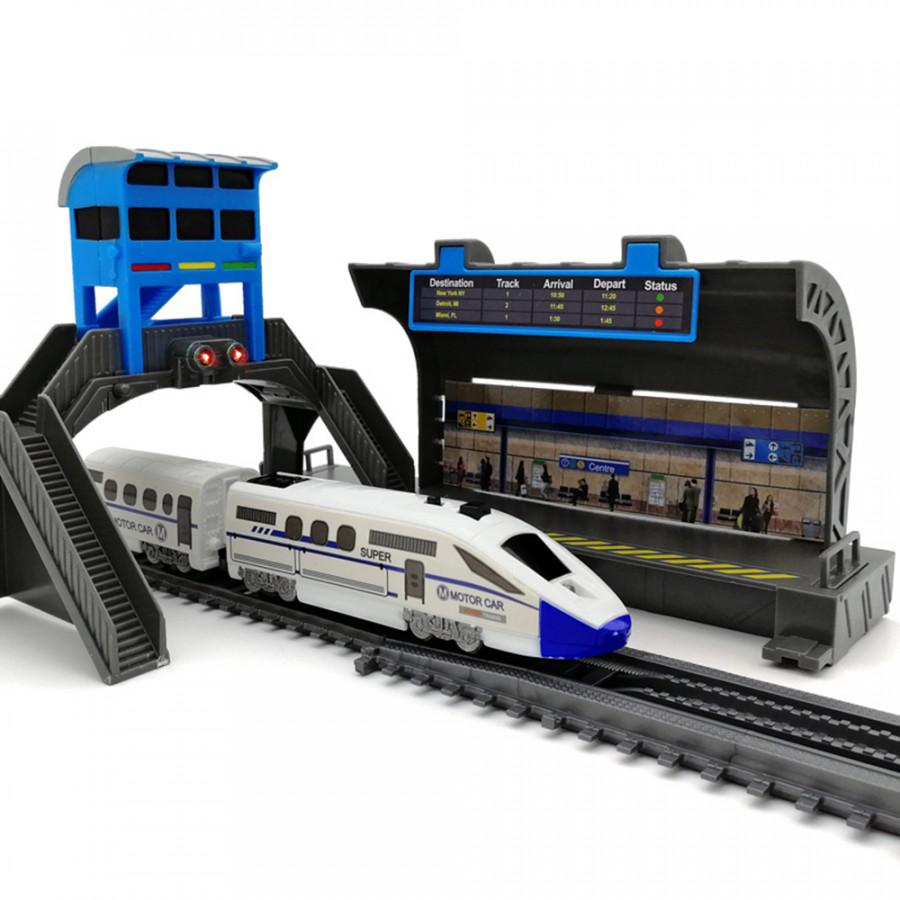 DIY Track Train Rail Car Interesting Set Plastic Model Kids - 1791304 , 8663593990763 , 62_13170237 , 611000 , DIY-Track-Train-Rail-Car-Interesting-Set-Plastic-Model-Kids-62_13170237 , tiki.vn , DIY Track Train Rail Car Interesting Set Plastic Model Kids