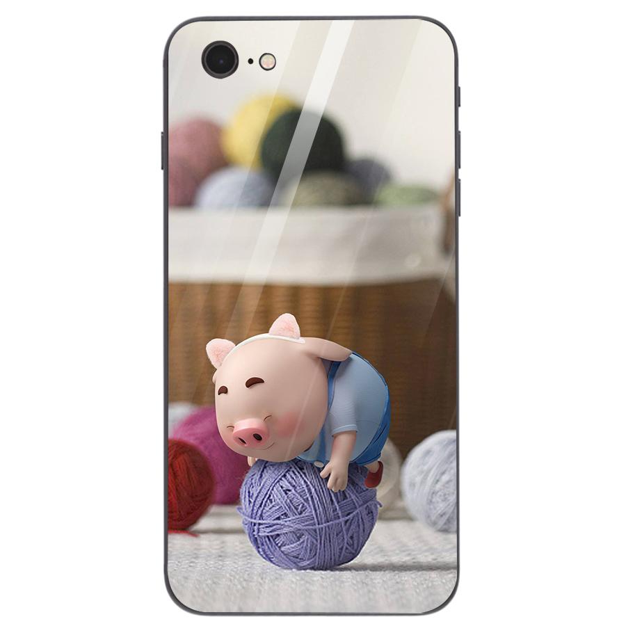 Ốp kính cường lực dành cho điện thoại iPhone 7/8 - heo hồng - hh053 - 4705495 , 7110958591208 , 62_15882648 , 210000 , Op-kinh-cuong-luc-danh-cho-dien-thoai-iPhone-7-8-heo-hong-hh053-62_15882648 , tiki.vn , Ốp kính cường lực dành cho điện thoại iPhone 7/8 - heo hồng - hh053