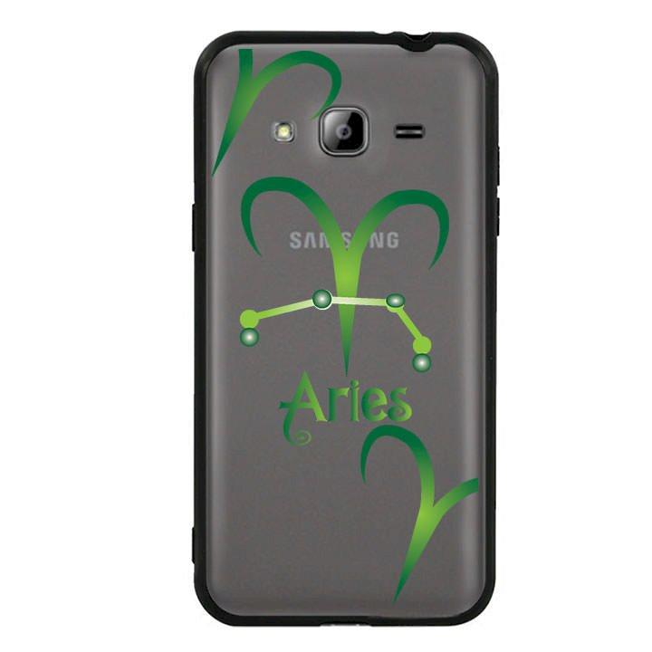 Ốp lưng cho Samsung Galaxy J3 2016 viền TPU cung Bạch Dương - Aries