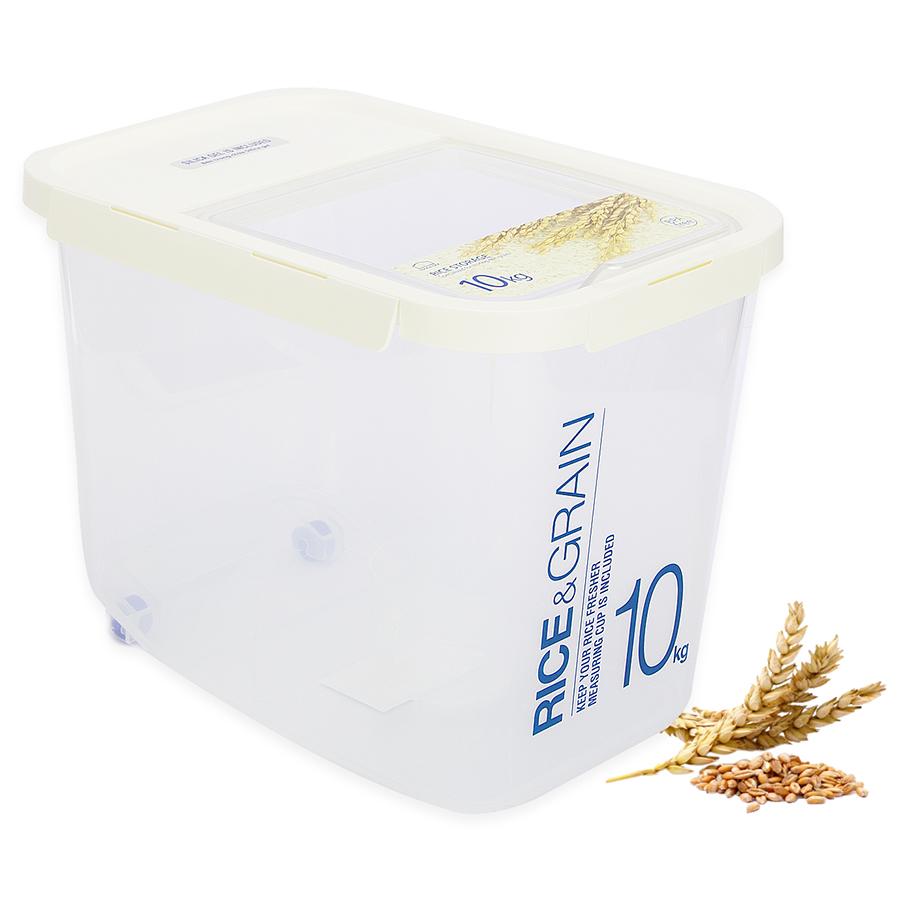 Thùng Đựng Gạo Bằng Nhựa LockLock HPL561 - 10kg/ 12L