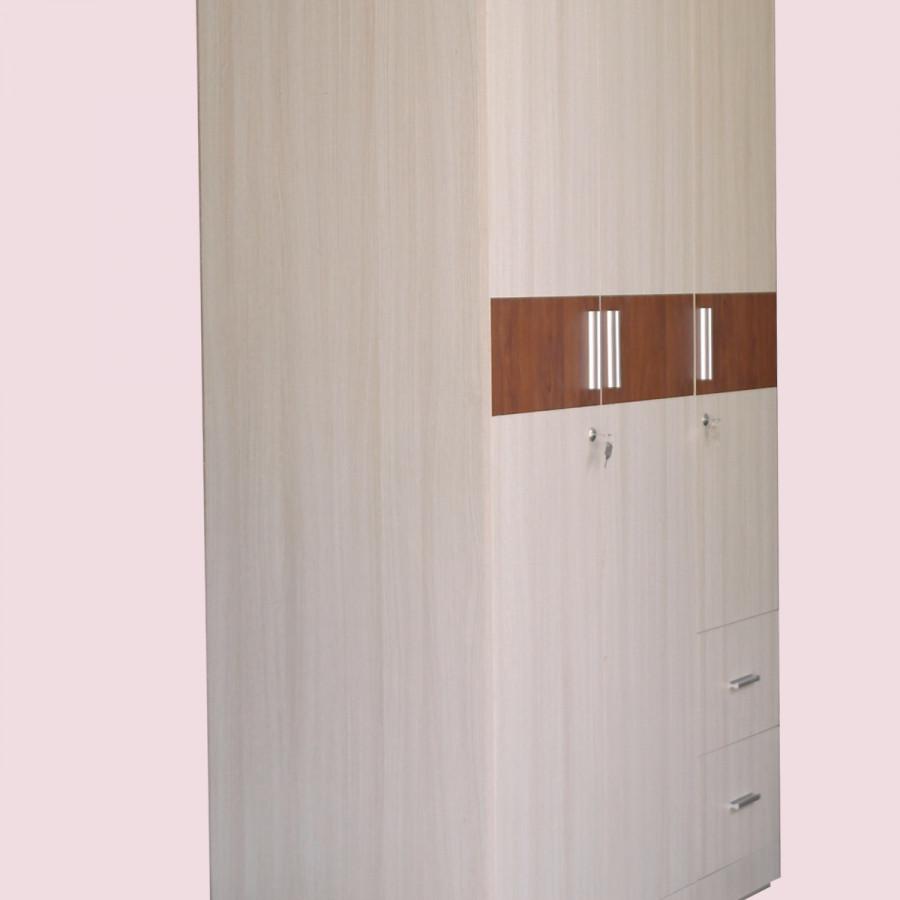 Tủ Quần Áo Tiêu Chuẩn HT 12 MDF Melamine Vân Gỗ chống trầy xước