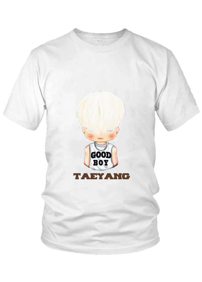 Áo thun nữ thời trang cao cấp Taeyang Chibi nhóm BigBang M6