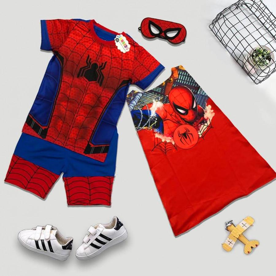 Bộ quần áo siêu nhân người nhện Spider Man Homecoming In 3D size 9-15 - 861388 , 6619956381336 , 62_14632172 , 195000 , Bo-quan-ao-sieu-nhan-nguoi-nhen-Spider-Man-Homecoming-In-3D-size-9-15-62_14632172 , tiki.vn , Bộ quần áo siêu nhân người nhện Spider Man Homecoming In 3D size 9-15