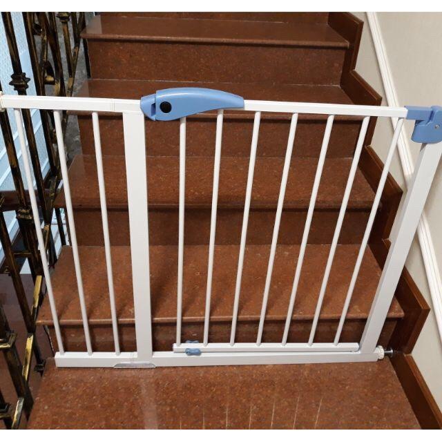 Combo 01 Thanh chặn cầu thang và cửa- Không cần khoan đục- (Rộng 72-85cm, cao 76cm) và thanh nối 30cm giúp Bé an toàn
