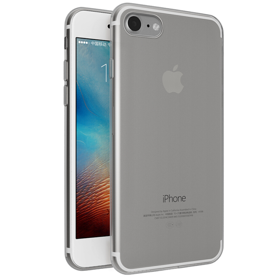 Ốp Điện Thoại Mềm Cho Điện Thoại iPhone7/8 Series JK75 - Đen trong suốt