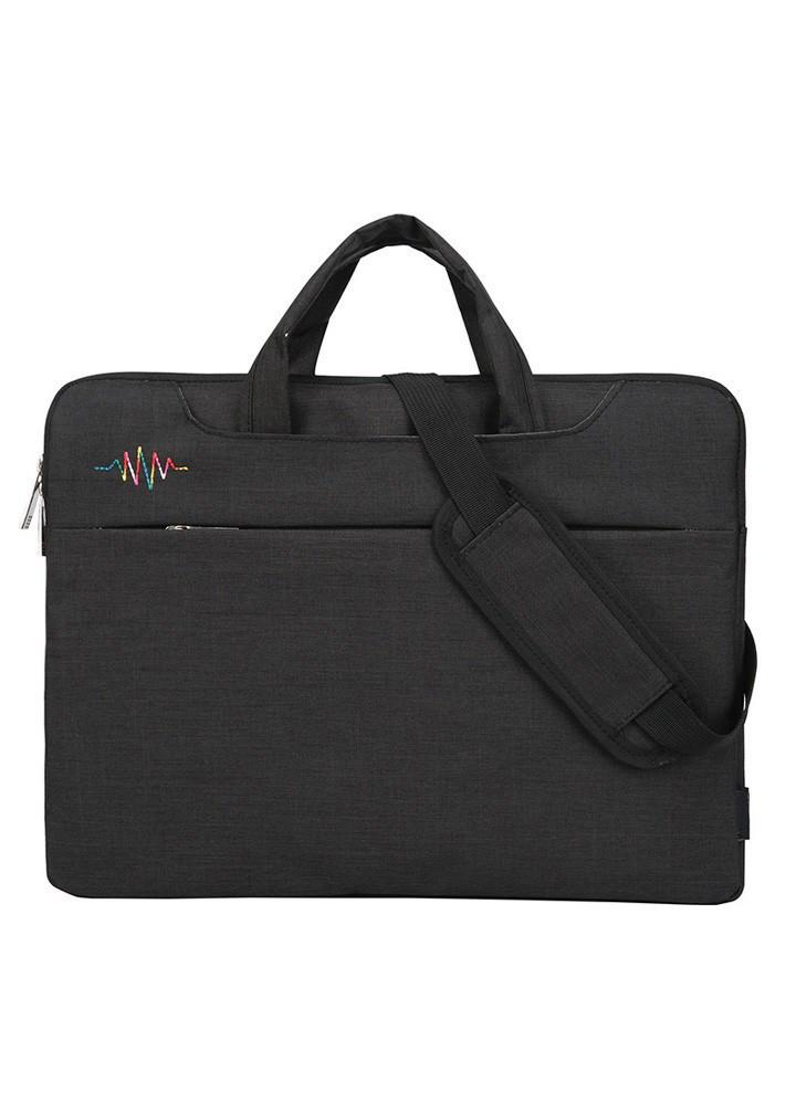 Túi chống sốc 3 ngăn phụ có dây đeo cho MacBook, laptop (C1)