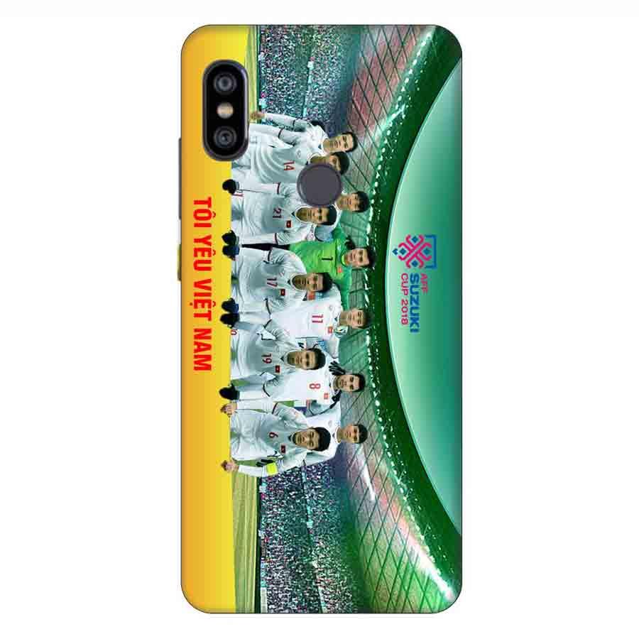 Ốp Lưng Dành Cho Xiaomi Note 6 Pro AFF Cup Đội Tuyển Việt Nam - Mẫu 3