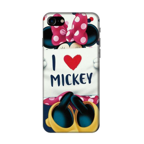 Ốp Lưng Dành Cho Điện Thoại iPhone 8 - I Love Mickey