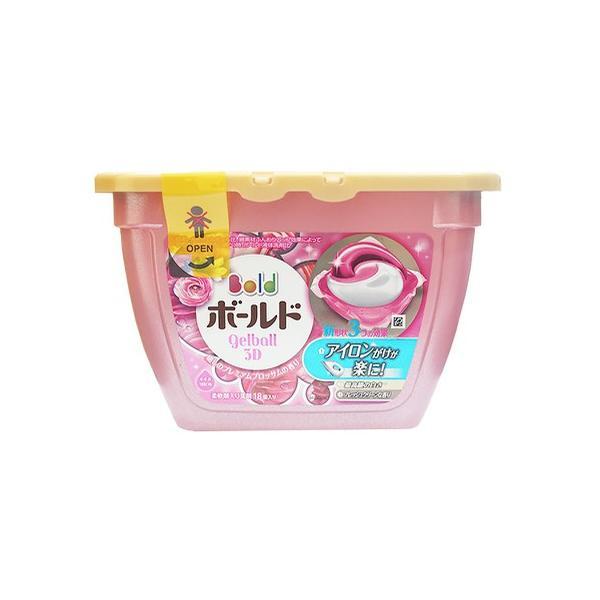 Hộp 18 viên nước giặt Gelball hương ngàn hoa 3D (2 trong 1) - Nhật Bản