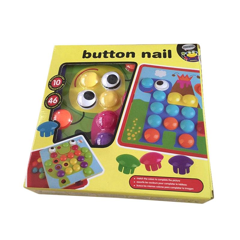 Bộ Đồ Chơi Button Nail Cho Bé (25 x 25 x 4 cm)