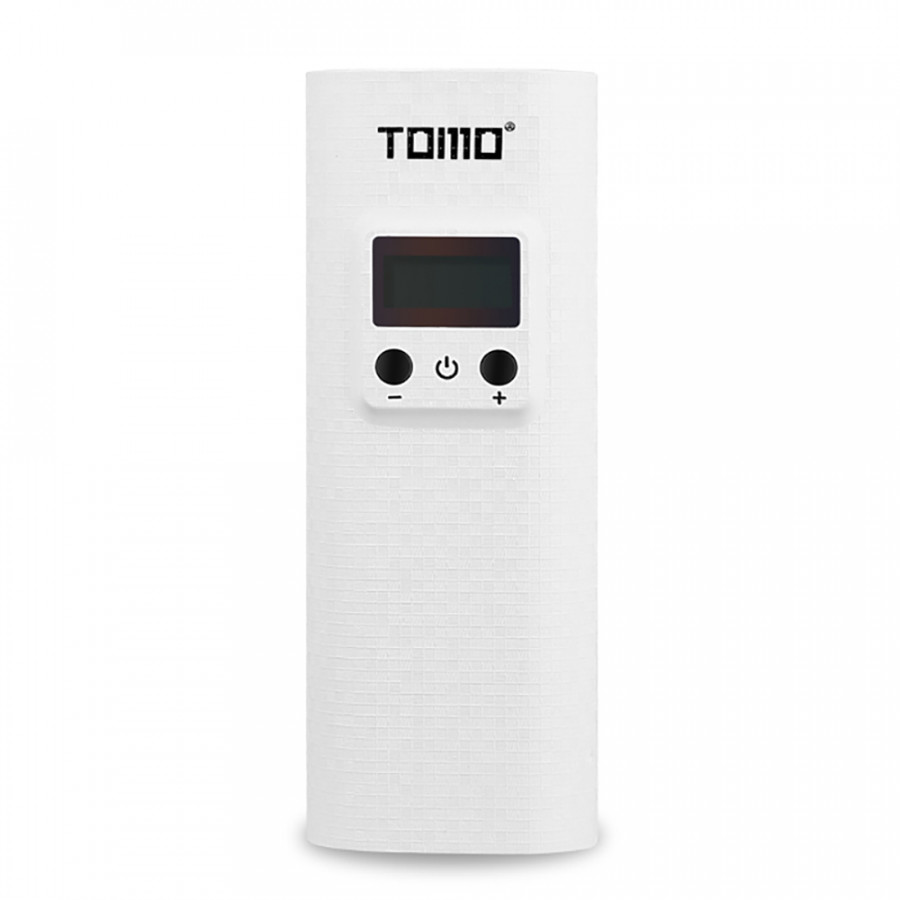 TOMO K2 Portable 18650 Lithium Battery Charger Dual USB Ports Power Bank With Digital LCD Display for Cellphones