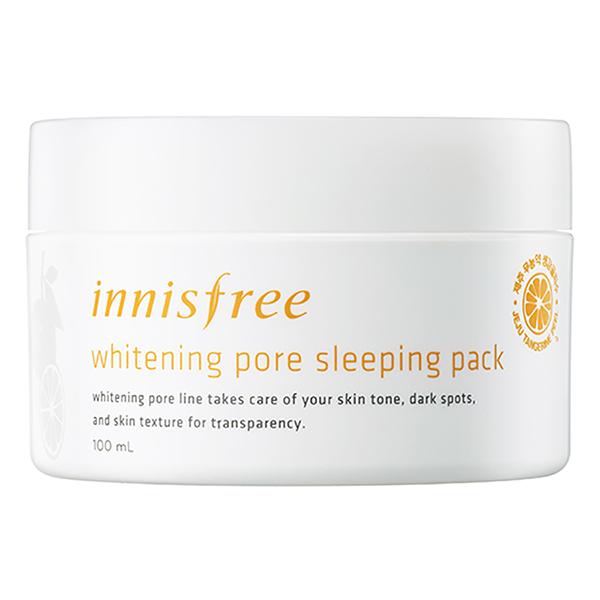 Mặt Nạ Ngủ Chiết Xuất Từ Vỏ Quýt Tươi Whitening Pore Sleeping Pack (100ml)