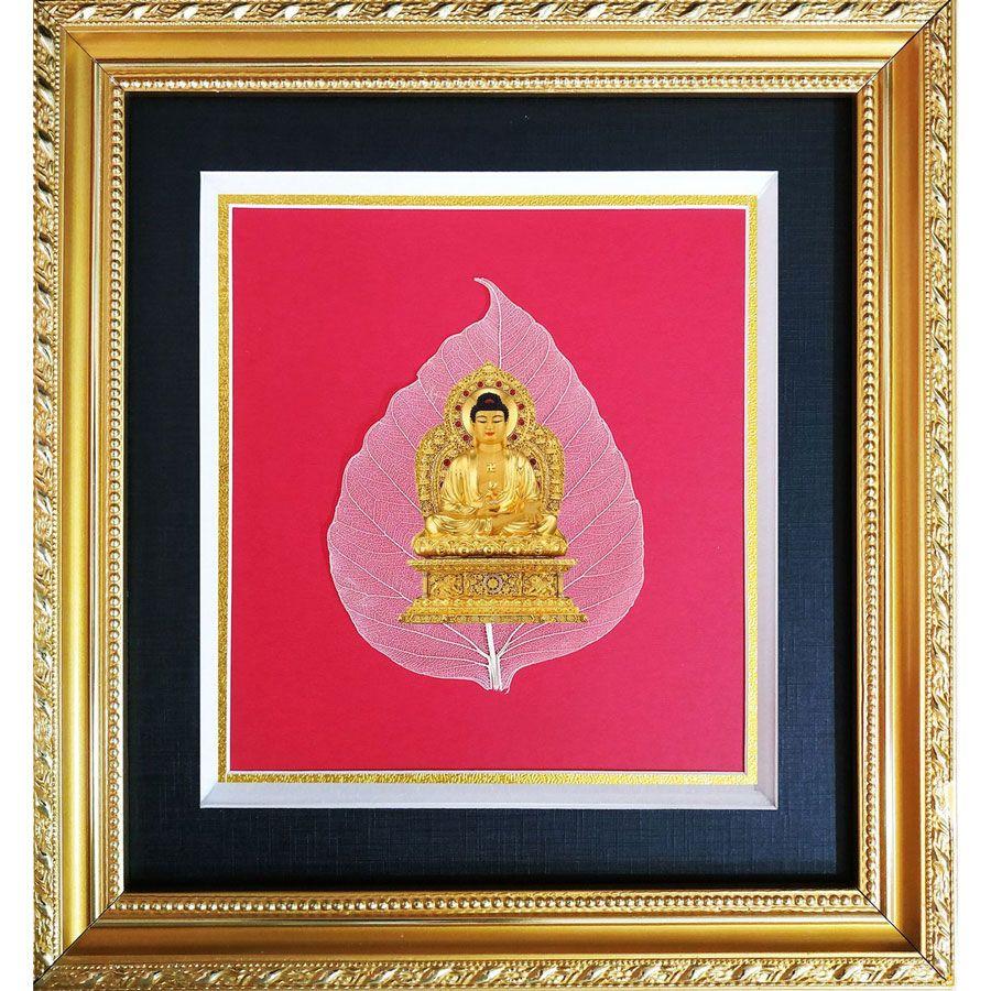 Tranh In Phật Trên Bồ Đề HPB-23