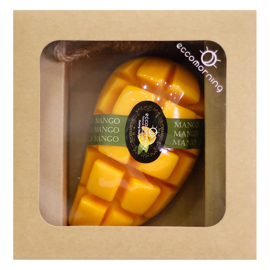 Xà Bông Thiên Nhiên Hình Trái Cây Hương Xoài Eccomorning Natural Handmade Soap (100g)