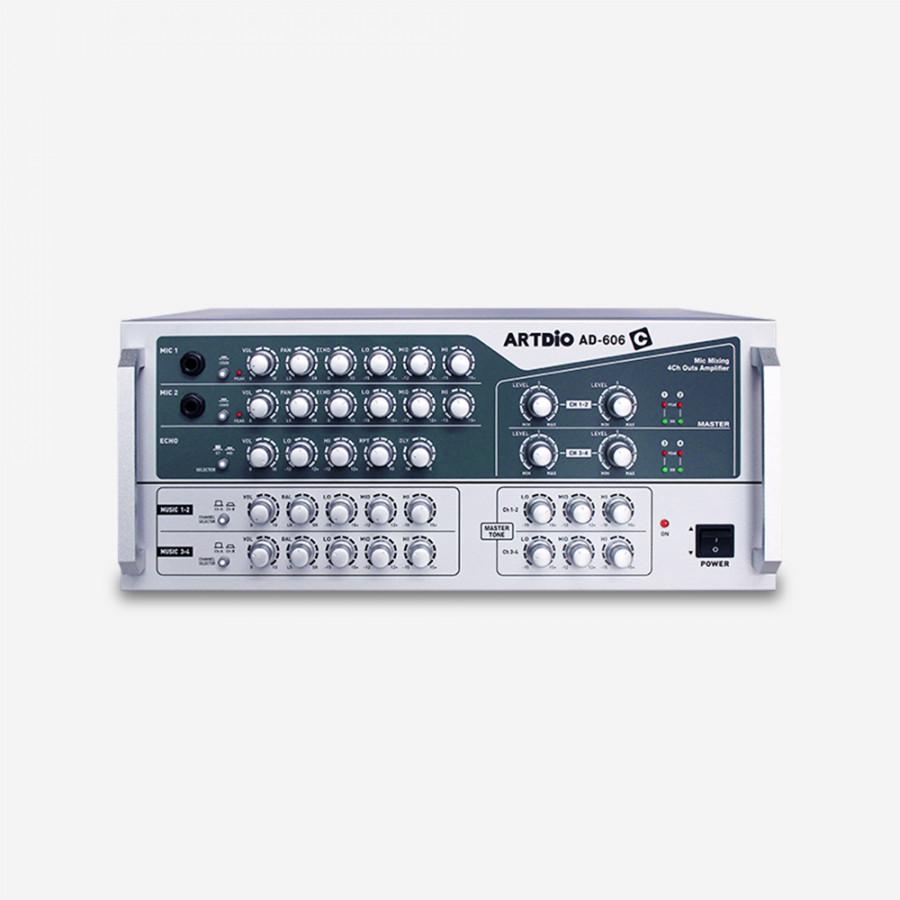 Amply karaoke ARTDIO AD-606C - AC 220V/50Hz - Output power: 600Watts - 420(W) x 175(H) x 345(D)mm - 15.6 kg - 1288318 , 1618506233700 , 62_13377460 , 10000000 , Amply-karaoke-ARTDIO-AD-606C-AC-220V-50Hz-Output-power-600Watts-420W-x-175H-x-345Dmm-15.6-kg-62_13377460 , tiki.vn , Amply karaoke ARTDIO AD-606C - AC 220V/50Hz - Output power: 600Watts - 420(W) x 17