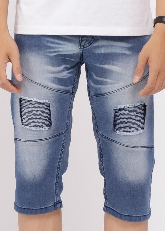 Quần Short Jeans Nam Thời Trang - A91 JEANS 157 (Xanh)