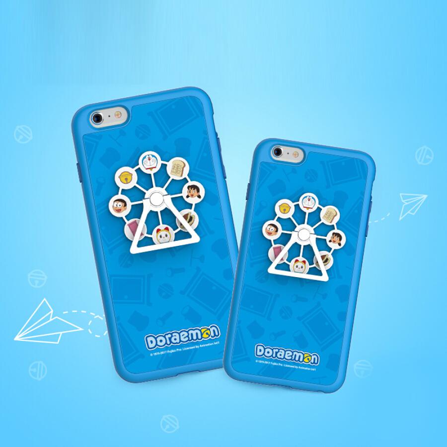 Ốp Điện Thoại Hình Vòng Quay Doraemon 5.5 inch cho iPhone 6s Plus Rock