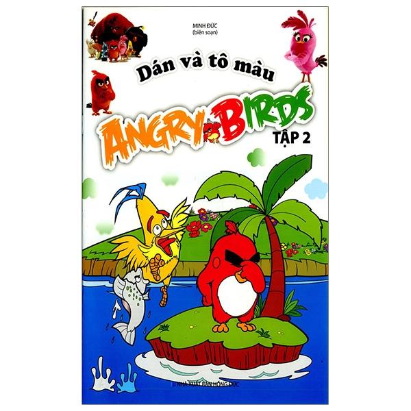 Dán Và Tô Màu Angrybirds - Tập 2