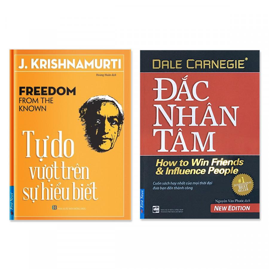 Combo 2 cuốn: Đắc Nhân Tâm,  Tự Do Vượt Trên Sự Hiểu Biết - 1538609 , 2627310197695 , 62_10424151 , 144000 , Combo-2-cuon-Dac-Nhan-Tam-Tu-Do-Vuot-Tren-Su-Hieu-Biet-62_10424151 , tiki.vn , Combo 2 cuốn: Đắc Nhân Tâm,  Tự Do Vượt Trên Sự Hiểu Biết
