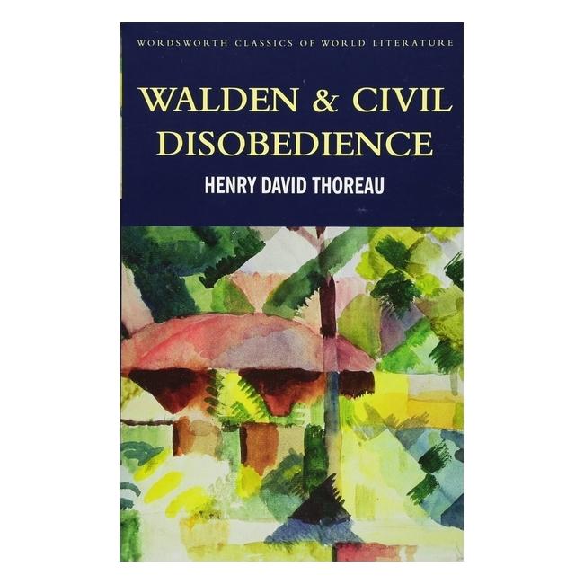 Walden  Civil Disobedience