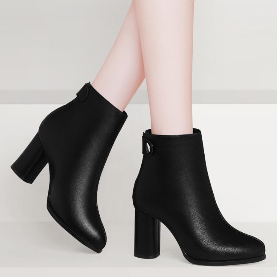 Giày Boot Cao Gót Nữ GUCIHEAVEN 9231