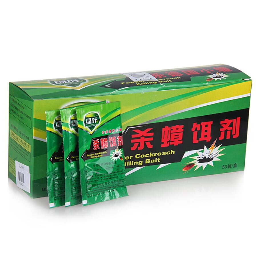 Thuốc Diệt Gián Green Leaf GL2002 (10g x 50 Gói) - 1180729 , 9572723572528 , 62_4828753 , 261000 , Thuoc-Diet-Gian-Green-Leaf-GL2002-10g-x-50-Goi-62_4828753 , tiki.vn , Thuốc Diệt Gián Green Leaf GL2002 (10g x 50 Gói)