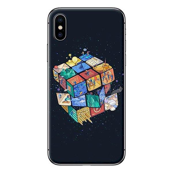 Ốp Lưng Dành Cho iPhone X - Mẫu  Rubik
