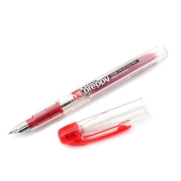 Bút Máy Học Sinh Preppy Plaitnum Cỡ 03 - Đỏ
