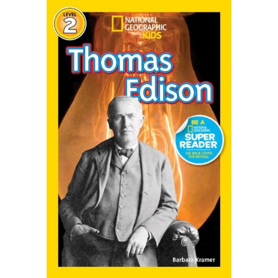 National Geographic Readers: Thomas Edison - 1317668 , 6292248918757 , 62_5304141 , 106000 , National-Geographic-Readers-Thomas-Edison-62_5304141 , tiki.vn , National Geographic Readers: Thomas Edison